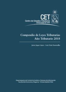 Compendio de Leyes Tributarias: Año Tributario 2018 1