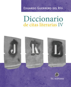 Diccionario de citas literarias IV 1