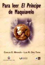 Para leer El príncipe de Maquiavelo 1