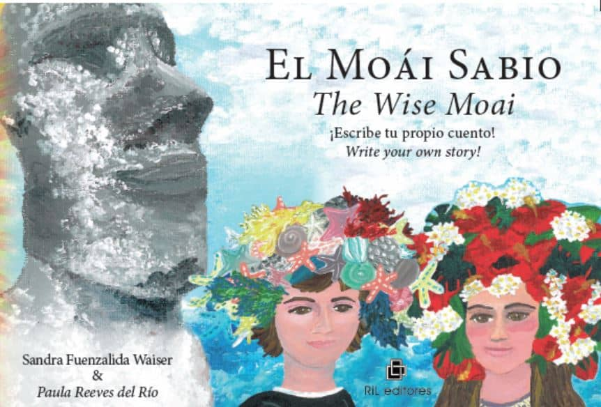 El Moái Sabio/The Wise Moai: tu libro bilingüe e interactivo para aprender a escribir un cuento/An interactive bi-lingual book to learn how to write a story 1