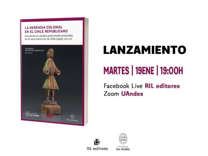 Invitación 19/01: Lanzamiento del libro «La herencia colonial en el Chile republicano» 1