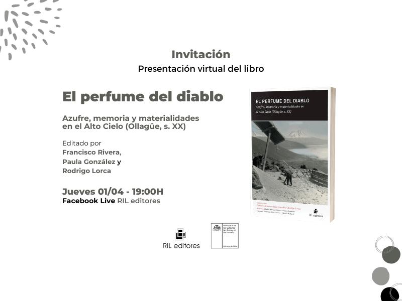 Invitación 01/04: Lanzamiento del libro «El perfume del diablo» 6