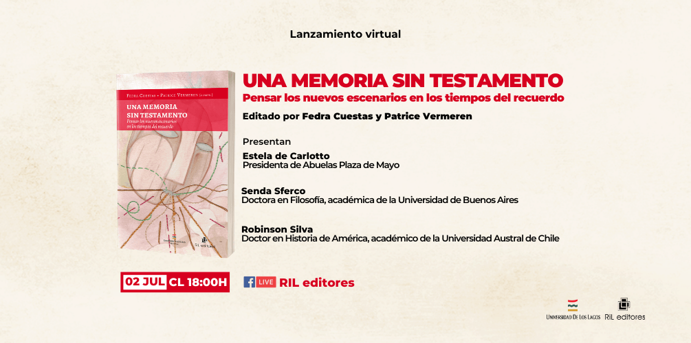 Invitación 02/07: Lanzamiento del libro «Una memoria sin testamento» 8